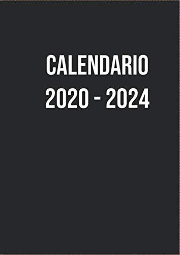 Calendario 2020-2024 Planificador 60 meses 1 mes por página