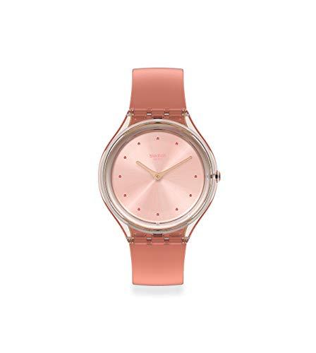 Swatch Reloj Mujer de Cuarzo analógico con Correa en plástico SVOK108