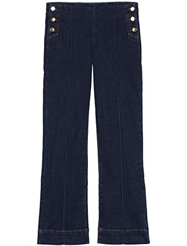 Calzedonia Damen Cropped-Flare-Jeans Sailor