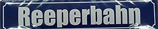 Reeperbahn Hamburg Straßenschild Blechschild Gewölbt Neu 1