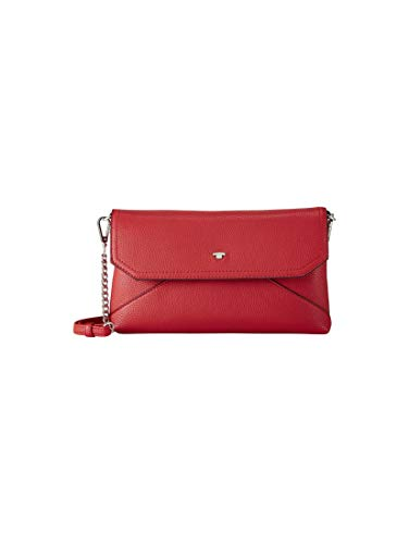TOM TAILOR Damen Taschen & Geldbörsen Clutch Vittoria red,OneSize