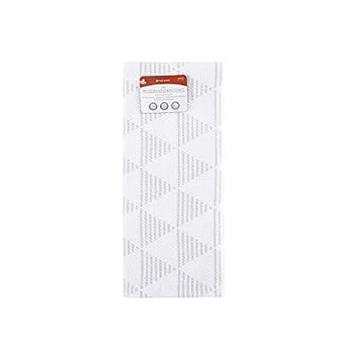 Full Circle Hue - 100% Organic Cotton Modern Kitchen Towel, 15  x 25 , White Triangles