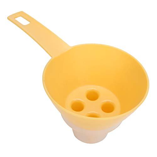 inodoro amplia gama de usos Colador de huevos Utensilios de cocina con mango ergonómico Fácil de usar para hacer fideos de huevo, mezclar masa y crema