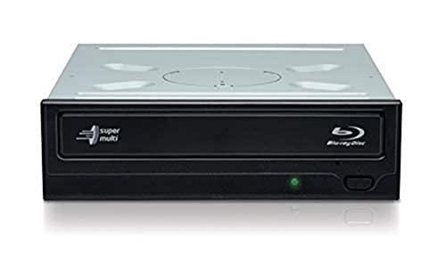 Hitachi-LG BH16NS55 Interner Blu-Ray-Disc-Brenner mit 16-facher Brenngeschwindigkeit und umfassender Formatunterstützung (BD-R BD-RE BDXL DVD-RW CD-RW), Silent Play, Windows 10 kompatibel