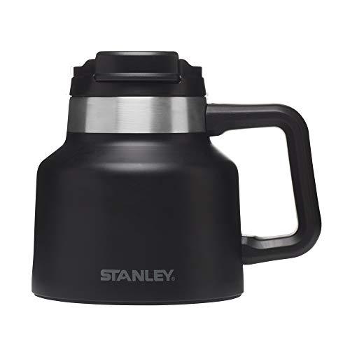 Stanley Adventure Tough-To-Tip Admiral's Mug , Matte Black, 20oz