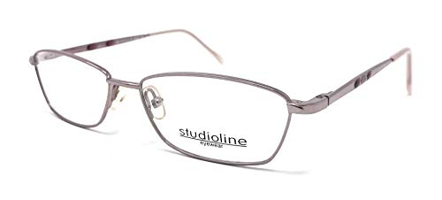 Studioline - Gafas de vista para mujer 3124 Lila 80 Vintage