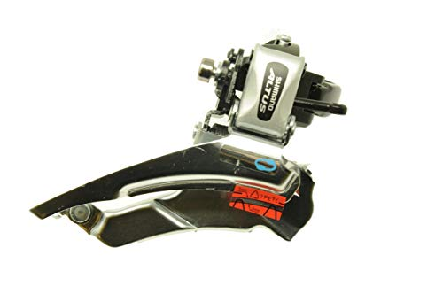 SHIMANO ALTUS FD-M313 MTB BIKE TRIPLE FRONT GEAR MECH/DERAILLEUR CLAMP SIZE 34.9mm TOP OR BOTTOM PULL