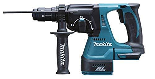 Makita DHR243Y1J Martillo perforador, 0 W, 0 V, negro, azul, SystemKIT mit 1x Akku 1,5 Ah