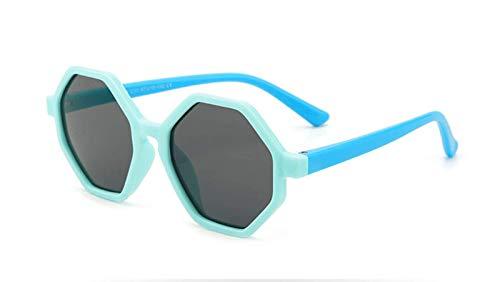 Pteng Ultraviolet raysPolarized Sunglasses,Irregular Hexagon UV Protection Eyewear for Boys and Girls Age 312