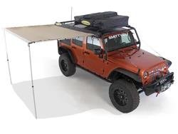 [Smittybilt 正規品] テントオーニング カーサイドタープ/カーサイドテント 250cm x 198cm
