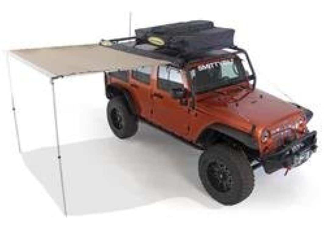 泣いている制裁ある[Smittybilt 正規品] テントオーニング カーサイドタープ/カーサイドテント 250cm x 198cm