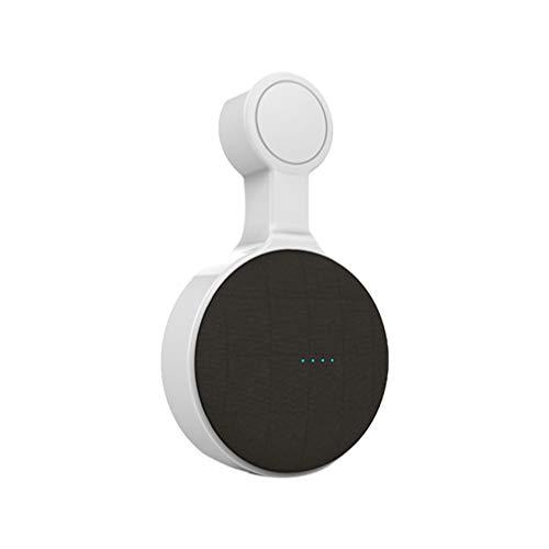 SUPVOX Soporte de Montaje de Altavoz Soporte de Montaje en Pared Soporte de Clip de Pared Soporte de Soporte para Soporte Compatible con Google Home Mini (Blanco)