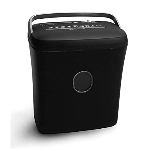 Swaggers Paper Shredder 10 Sheets with CD and Credit Card Shredder with 21 Litre Basket Bin- Cross Cut Shred Type !! 1 Year Warranty !!