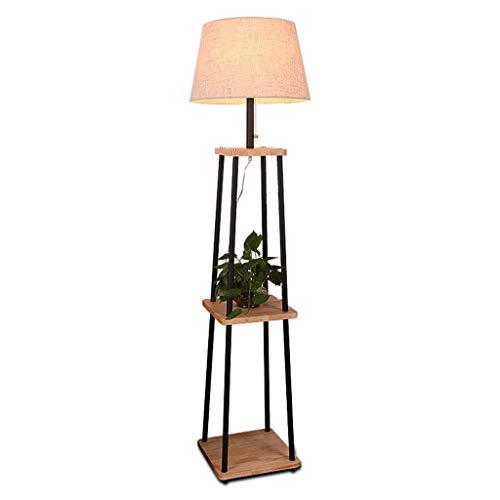 Verticale vloerlamp met twee lagen, moderne, minimalistische woonkamer, slaapkamer, leesbaar, 7 W, traploos dimbaar