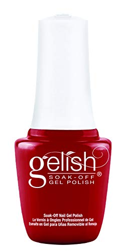 Gelish Mini Hot Rod Red Soak-Off Gel Polish, 0.3 oz.