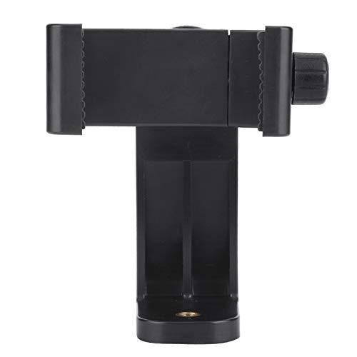 DAUERHAFT Compatible para el Ancho del teléfono es 5.5-8.5cm Material ABS Soporte Universal para trípode con Clip para teléfono con rotación de 360 °, para, para iPhone