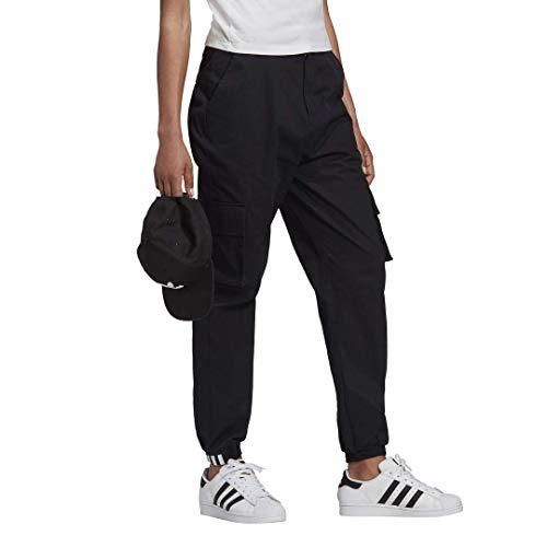 adidas Damen Cargo Hose Originals High Waist Pant schwarz 32