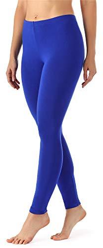 Merry Style Damen Lange Leggings aus Viskose MS10-143 (Kobalt, M)