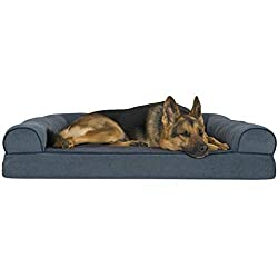 Furhaven Pet Dog Bed Orthopedic Sofa-Style