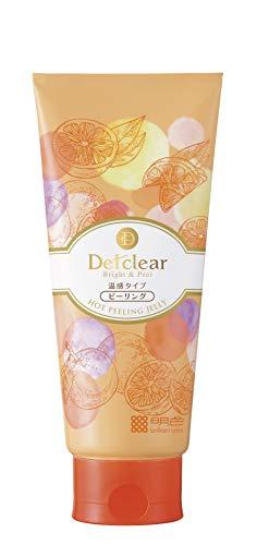 DETクリアブライト&ピールピーリングジェリー<ホット>180g(日本製)天然オレンジの香り