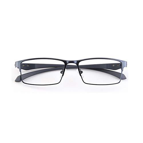 RXBFD Gafas de Lectura multifocales progresivas fotocrómicas,  Gafas de Sol polarizadas con Montura Completa de aleación, para lectores de computadora Anti Fatiga Visual
