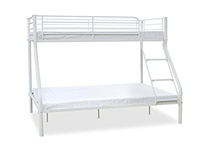 House Additions Newlyn Triple Sleeper Bunk Bed Finish: White