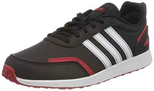 Adidas Unisex-Child VS SWITCH 3 K Running Shoe, CBLACK/FTWWHT/SCARLE, 36 2/3 EU