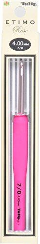 かぎ針 ETIMO Rose (エティモロゼ) クッショングリップ付きかぎ針 7/0号 Tulip チューリップ