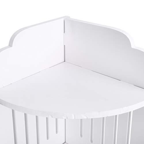 Ausla Gabinete de Almacenamiento, diseño acodado de la Estructura Estable del gabinete para el hogar