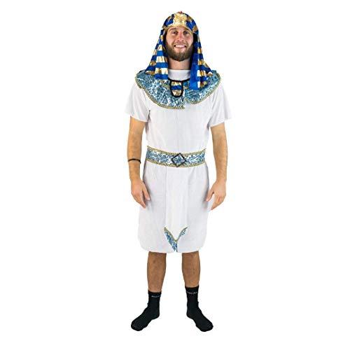 Bodysocks® Disfraz de Faraón Egipcio para Adulto