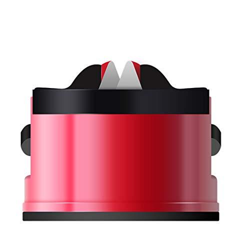 N \ A Sicherer Messerschärfer mit Saugnapf, Schärfschärfwerkzeug für gerade Glatte Messer, Küchen-Schnellwerkzeuge