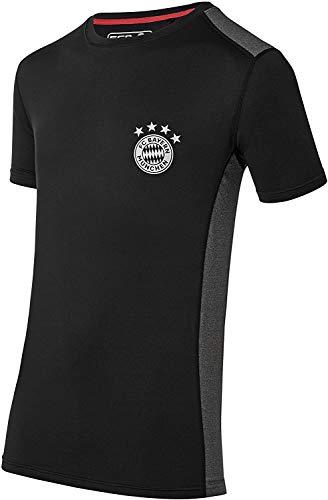 FC Bayern München T-Shirt FCB Sports schwarz Tshirt, FCB, Shirt (M)
