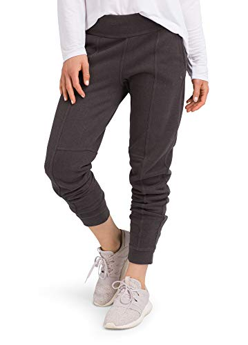 prAna - Womens Cozy Up Pant, Charcoal Heather, Medium