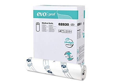Lenzuolino Medico Celtex EVO (standard H 60 cm x 55 mt - confezione da 6 rotoli - pura cellulosa 2 veli)