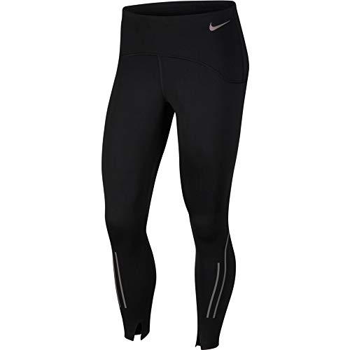 Nike Speed 7_8 Matt Tights Damen M Schwarz/Gunsmoke