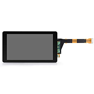ELEGOO 5.5'' Inch 2K LCD for Mars 3D Printer with 2560x1440 Resolution and Tempered Glass Protection, Sharp LS055R1SX04 Light Curing Display with MIPI Connector, Compatible with Photon