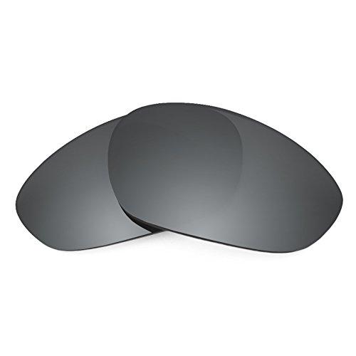 Revant Ersatzgläser für Oakley Minute 2.0, Polarisiert, Schwarz Chrom MirrorShield