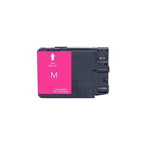 WSCA Für HP 932 933 Tintenpatrone, kompatibel mit HP OfficeJet 6100/6600/6700/7110/7510/7612 Drucker Vierfarb-Tintenstrahldrucker-Magenta