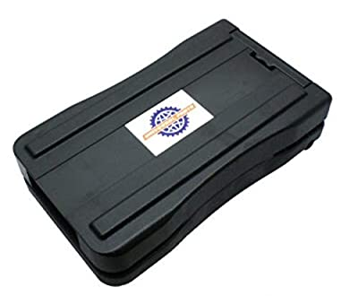 Rack Mount Battery Pack for Currie Electric Bikes (Batteries Not Included)