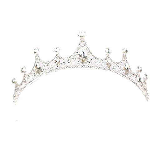 Loriver Kristallrhinestone-Königin-Prinzessin Crown Tiara Wedding Pageant Bridal Headband