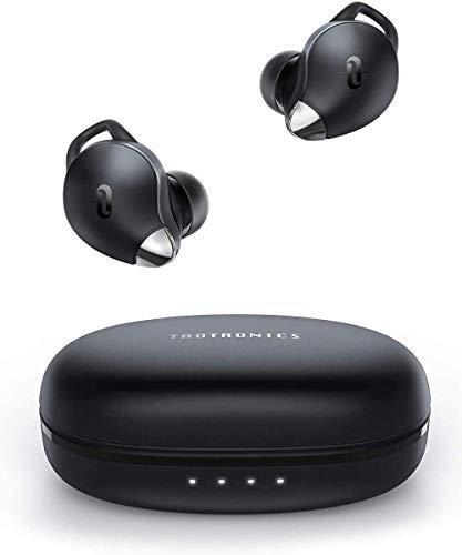 Bluetooth Kopfhörer,TaoTronics In Ear SoundLiberty 79 Bluetooth 5.0 Ohrhörer AI Noise Cancelling Mikro für makellose Anrufe Spielzeit IPX7 Wasserdicht Typ-C Schnellladen Ladekoffer (Generalüberholt)