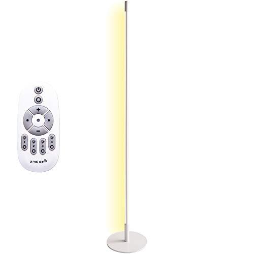 【Amazon限定ブランド】フロアーライト フロアスタンド ランプ リモコン 調光調色 LED 縦置き横置き 間接照明 LiioWH FineKagu+