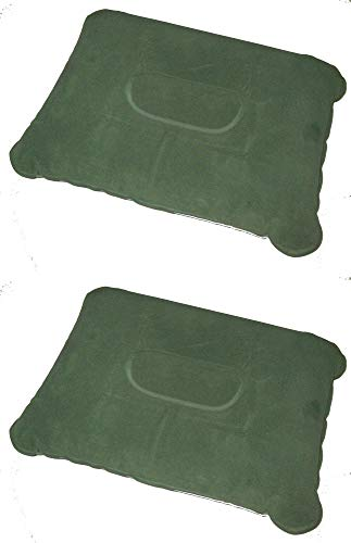 Pair of Zaltana Inflatable Camping Pillow (Inflated Size:17'x11'x4') PL1x2