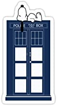 Lancy's Artwork Snoopy/Dr. Who - 4x4 - Doctor Who Dr Who Sticker