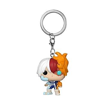 Funko Pop! Keychain  My Hero Academia - Todoroki Multicolor 2 inches  Model  48174