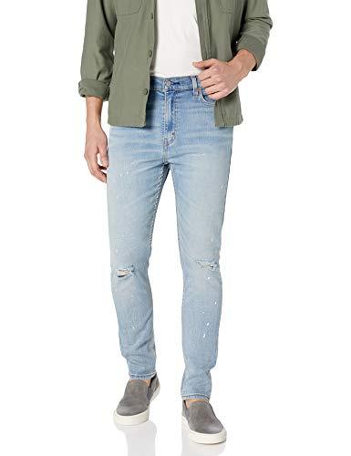 Levi's 510 Skinny Fit Men's Jeans, Sand Froze Splatter - Destructed - Advanced Stretch, 32W x 30L