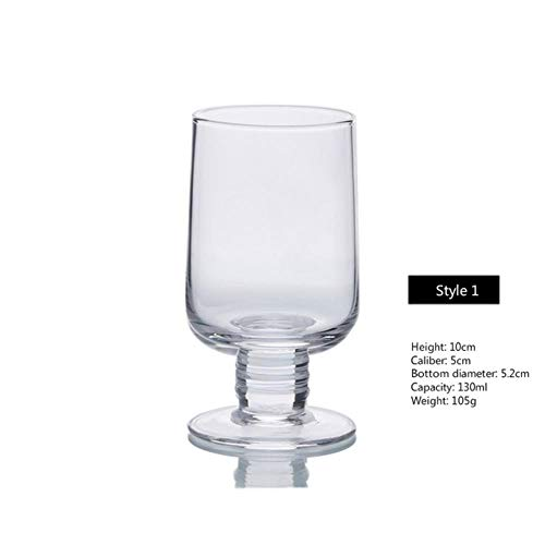 100-200Ml Omtrek in Goud Wijnglas Whiskey Wodka Geest Proeven Glas Cup 6 Stijlen Loodvrije Luchtbeker Goblet Bar Thuis Wijnset Transparant S1