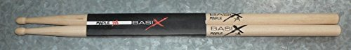 GEWApure Drumsticks 7A BASIX Maple Drum Sticks Trommelstöcke 1 Paar