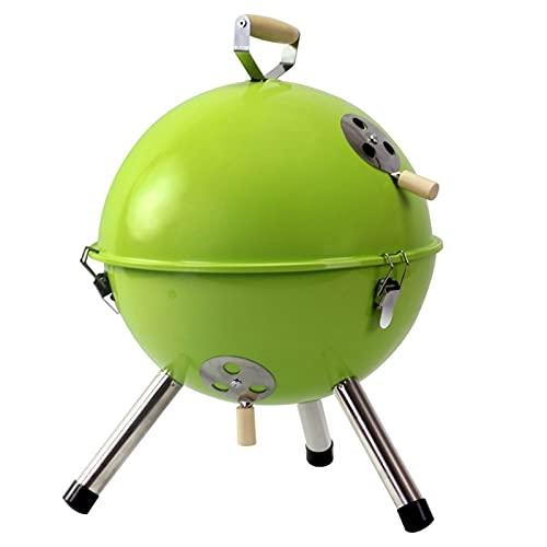 HYAN Barbacoa de Carbon Barbacoa de carbón portátil Barbacoa pequeña para 3-5 Personas con respiraderas de Aire para la regulación de la Temperatura Parrilla de Camping al Aire Libre Exte