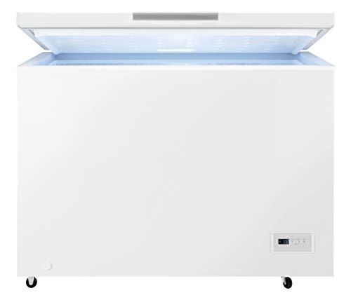 "AEG AHB531D1LW Gefriertruhe / 308 L / Effizienzklasse D / LowFrost -€"" weniger Eisbildung / Temperaturalarm / Rollen"